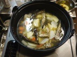 野菜と煮る
