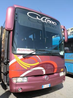 アグリジェント行きのバス