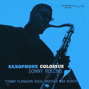 SONNY ROLLINS「SAXOPHONE COLOSSUS」1956年