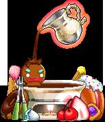 3015091チョコレート湯椅子