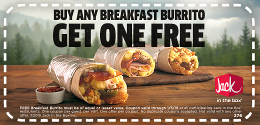 Free Burrito 1230