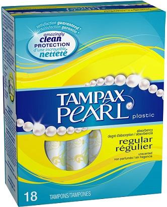tampax pearl 218