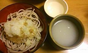 蕎麦湯大好き