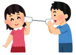 潜在意識で繋がる糸電話