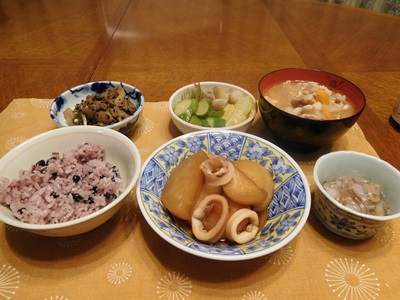 黒豆ご飯1