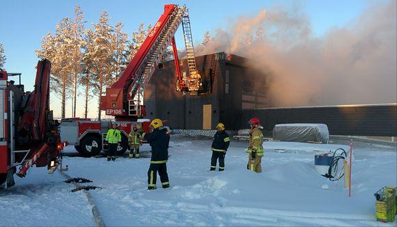 Seinäjoen asuntomessut tulipalo