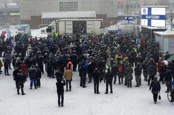 rajat kiinni mielenosoitus seinäjoki