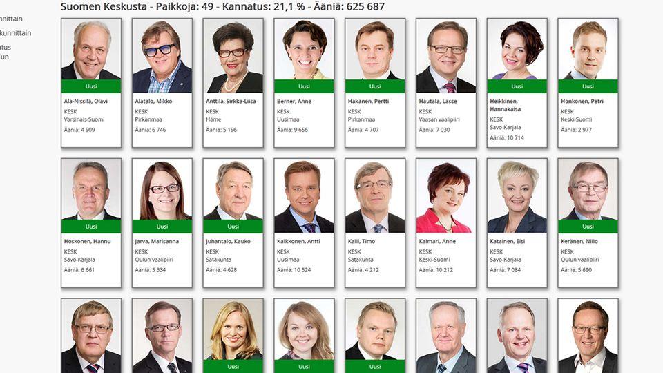 vaalit 2015 eduskunta