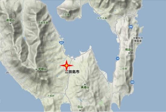 2)江田島町南部 森木神社