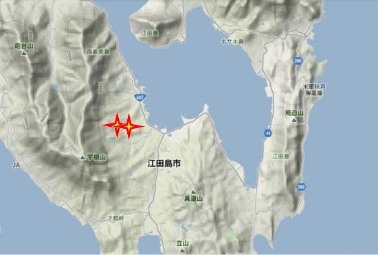 2)江田島町南部・高下大山祇神社