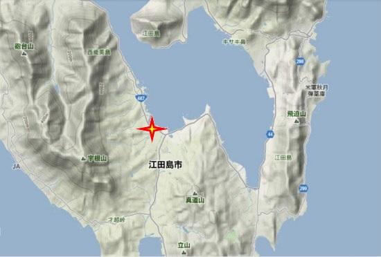 2)江田島町南部 恵美須神社