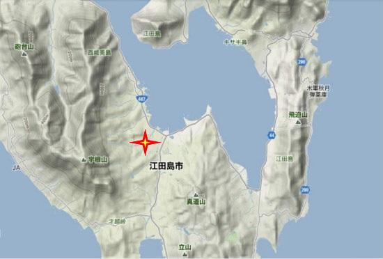 2)江田島町南部 徳正寺