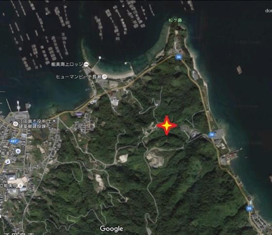 グーグル地図坪崎