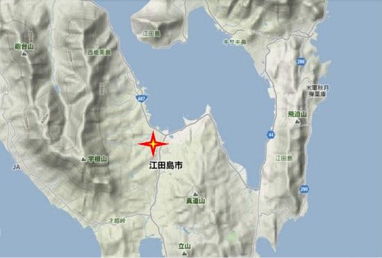 2)江田島町南部 中町小学校
