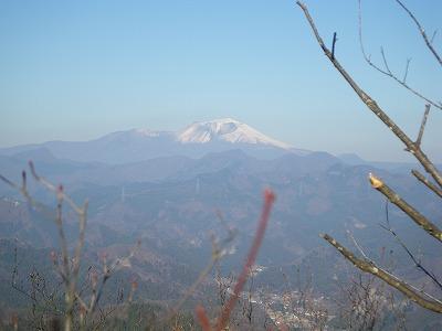 落沢岳から浅間山