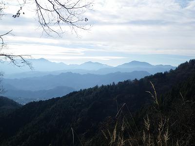 丹沢の主要峰