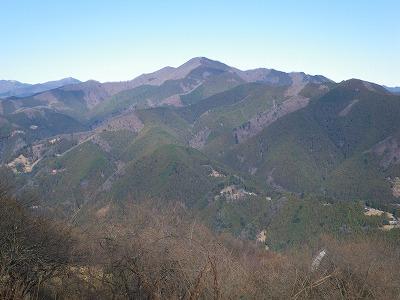 浅間嶺から御前山