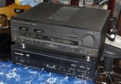 東芝 AVアンプ XB500 とLVプレーヤー XR-L100