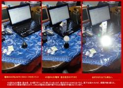 コード付きE26形ソケットとLED電球