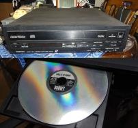 レーザーディスクプレーヤーTOSHIBA XR-L100-1