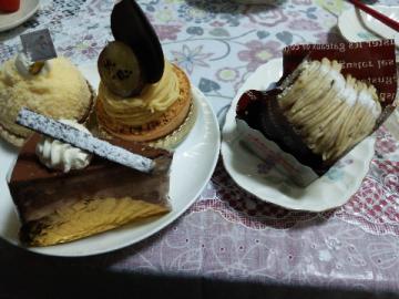 2月20日ケーキ