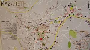 ナザレの地図