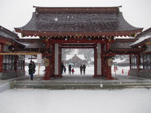 20160102_北海道護国神社参拝