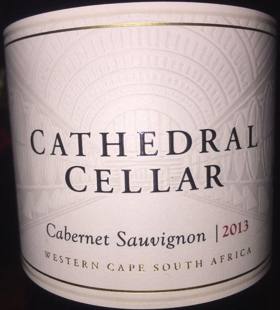 Cathedral Cellar Cabernet Sauvignon KWV 2013