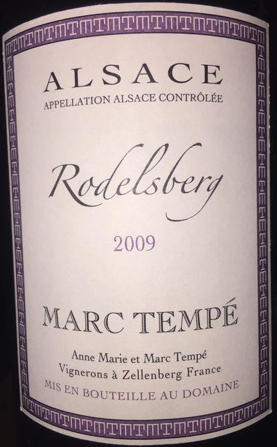Rodelsberg Marc Tempe 2009