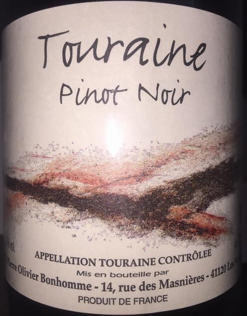 Touraine Pinot Noir Puzelat Bonhomme 2014