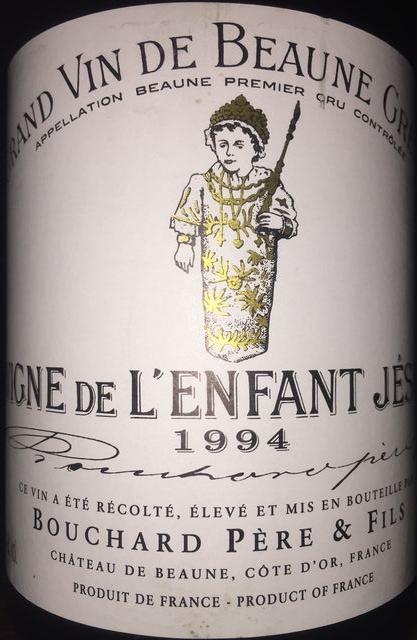 Vigne de LEnfant Jesus Bouchard 1994