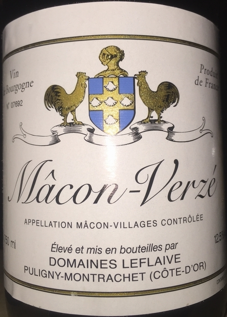 Macon Verze Domaines Leflaive 2013