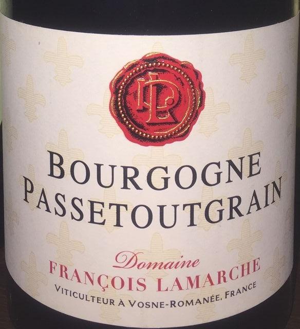 Bourgogne Passetoutgrain Francois Lamarche 2013