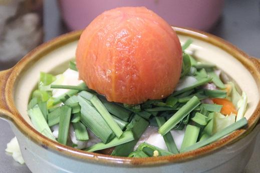 トマトもつ鍋 2016-1-24-6