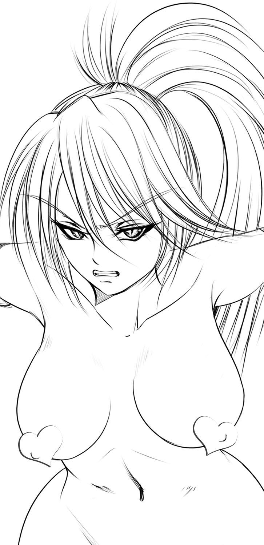 Azuma Kamimura Lineart