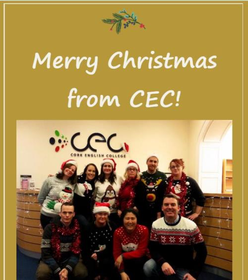 Christmas 2015 Cork English College Dublin Ireland