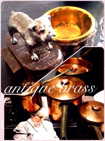 antique brass♡