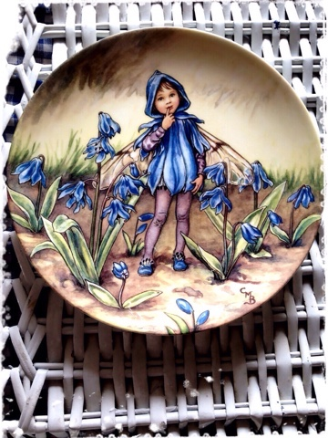 Wedgwood flower fairy♡