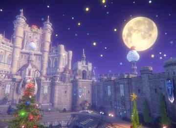 ハカナス城のクリスマス