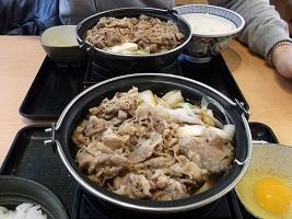 牛すき鍋2016.1.3