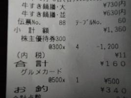 吉野家2016.1.3