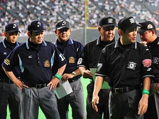 【プロ野球】審判員