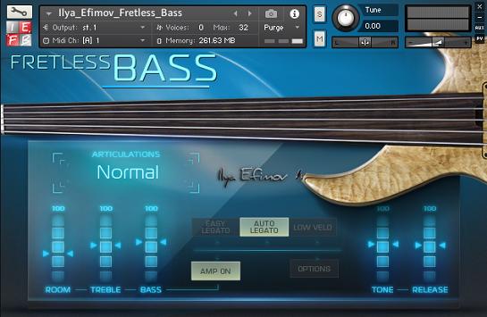 Fretless Bass2016