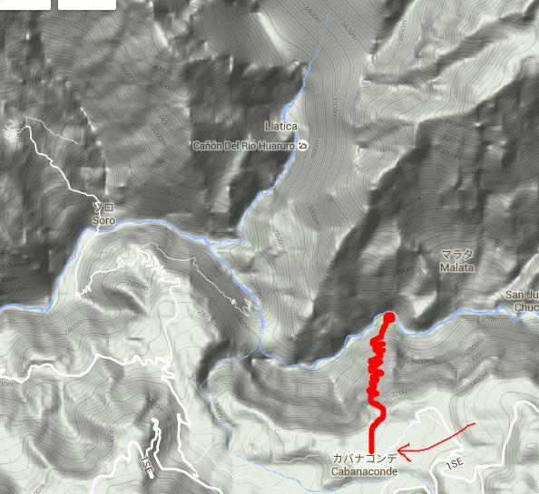 コルカ渓谷地図1