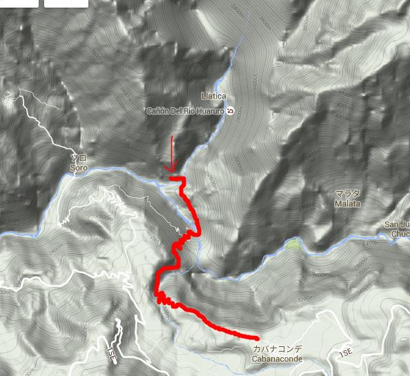 コルカ渓谷地図4