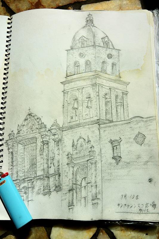 サンフランシスコ教会の絵