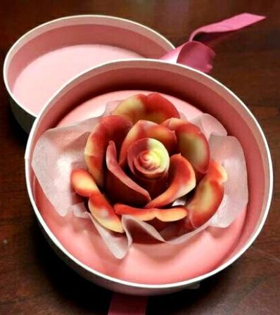 薔薇チョコ