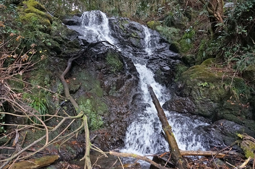 3谷道の滝