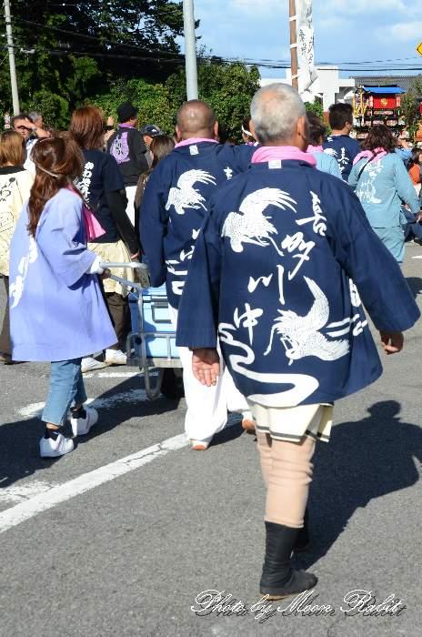 喜多川中屋台(だんじり) 祭り装束