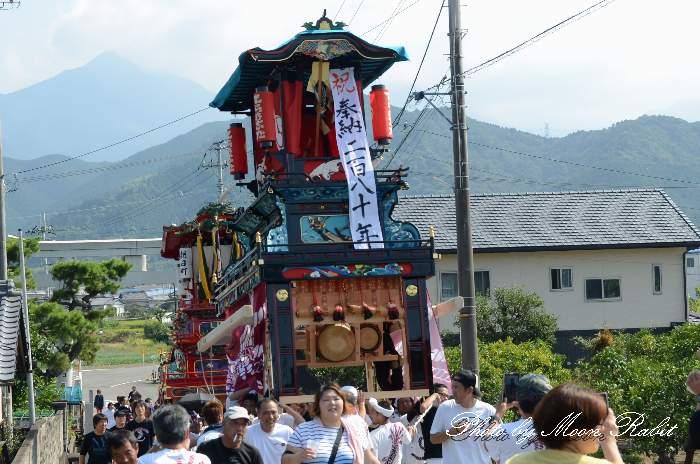 寺之下屋台改修記念 石岡神社 愛媛県西条市氷見